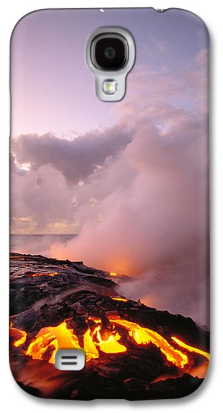 Lava Flows At Sunrise Galaxy S4 Case by Peter French - Printscapes