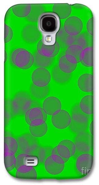Lavender Bokeh Galaxy S4 Case