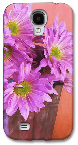 Daisy Galaxy S4 Case - Lavender Daisies by Tom Mc Nemar