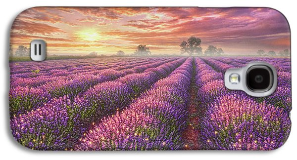Lavender Field Galaxy S4 Case