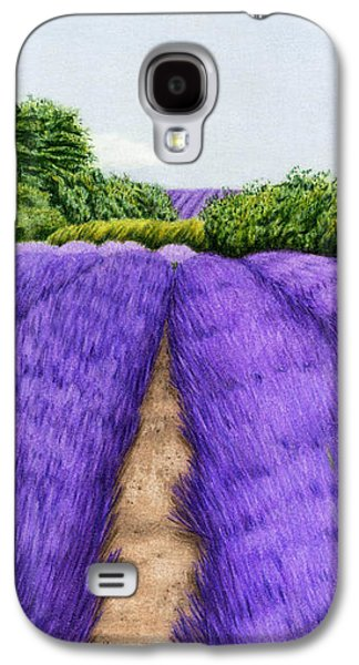 Lavender Fields Galaxy S4 Case