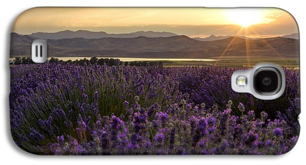 Lavender Glow Galaxy S4 Case by Chad Dutson