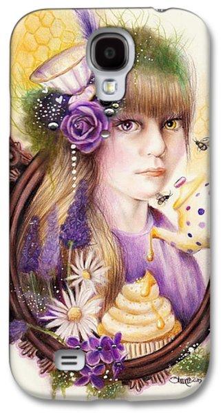 Lavender Honey Galaxy S4 Case by Sheena Pike
