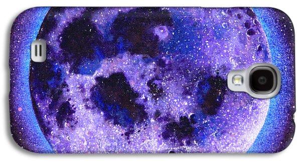 Lavender Moon Galaxy S4 Case by Shelley Irish