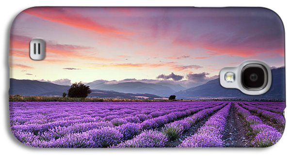 Lavender Season Galaxy S4 Case by Evgeni Dinev