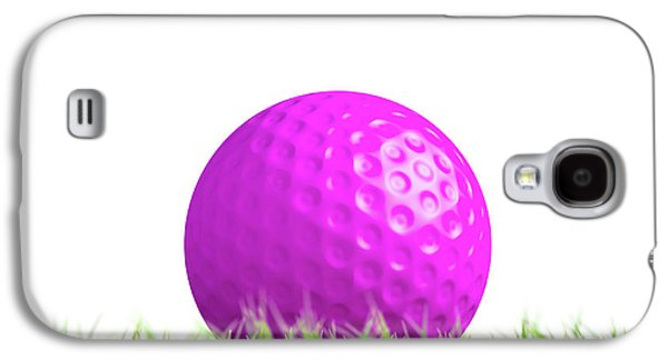 Lawn Hockey Ball Resting On Grass Galaxy S4 Case