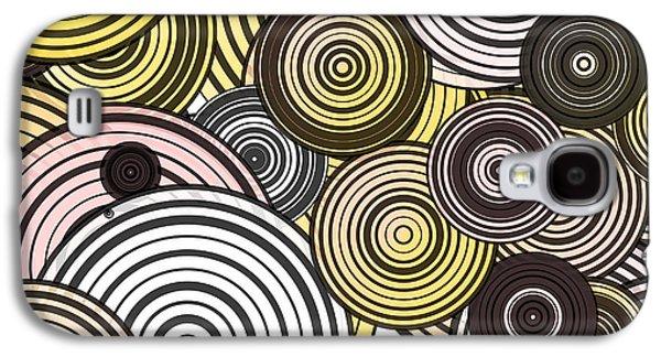 Layered Circles Galaxy S4 Case