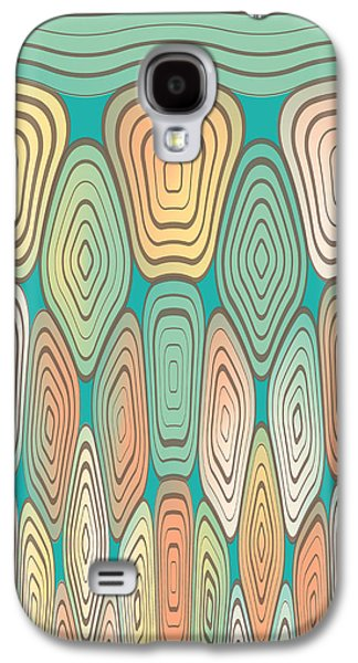 Layered Squares Galaxy S4 Case