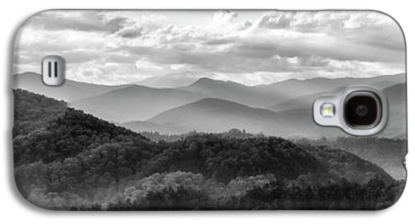 Layers In The Smokies Galaxy S4 Case by Jon Glaser