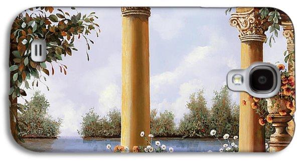 Vase Galaxy S4 Case - Le Arcate Sul Lago by Guido Borelli