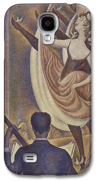 Le Chahut Galaxy S4 Case by Georges Pierre Seurat