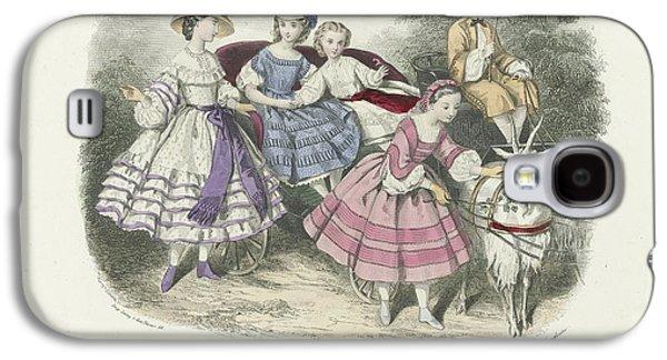 Le Conseiller Des Dames Et Des Demoiselles, Juillet 1861  Journal D Economie  Thierry, Paul Lacourie Galaxy S4 Case