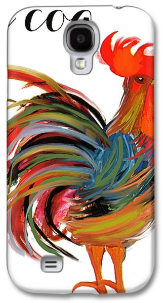 Le Coq Art Nouveau Rooster Galaxy S4 Case by Mindy Sommers