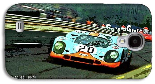 Le Mans, Steve Mcqueen Galaxy S4 Case