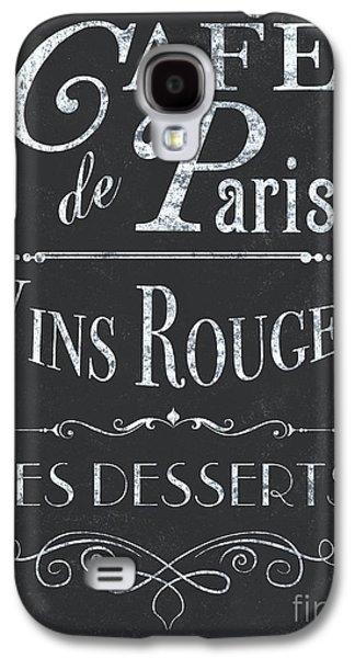 Paris Galaxy S4 Case - Le Petite Bistro 2 by Debbie DeWitt