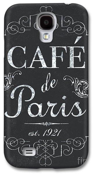 Paris Galaxy S4 Case - Le Petite Bistro 3 by Debbie DeWitt