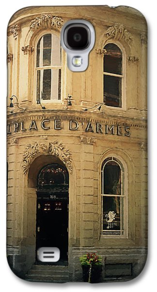 Le Place D' Armes Hotel  Galaxy S4 Case by Maria Angelica Maira