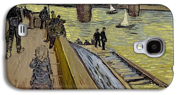 Le Pont De Trinquetaille In Arles Galaxy S4 Case by Vincent Van Gogh