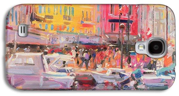 Le Port De St Tropez Galaxy S4 Case by Peter Graham