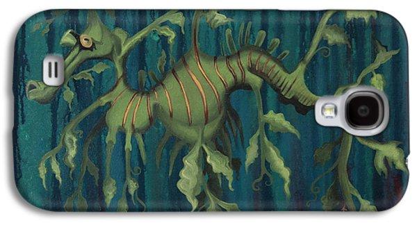 Leafy Sea Dragon Galaxy S4 Cases - Leafy Sea Dragon Galaxy S4 Case by Kelly Jade King