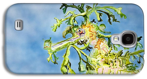 Leafy Sea Dragon Galaxy S4 Cases - Leafy Sea Dragon Galaxy S4 Case by Tanya L Haynes - Printscapes