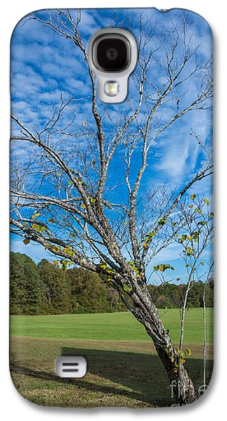 Leaning Tree Enhanced - Natchez Trace Galaxy S4 Case by Debra Martz