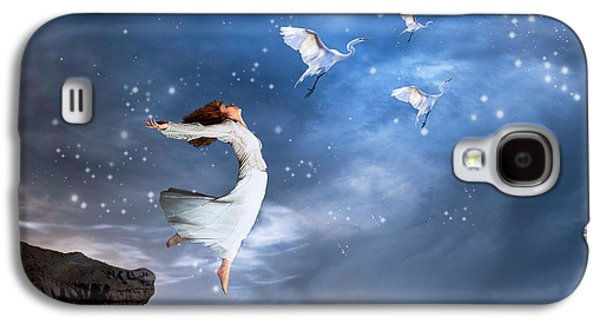 Leap Of Faith Galaxy S4 Case