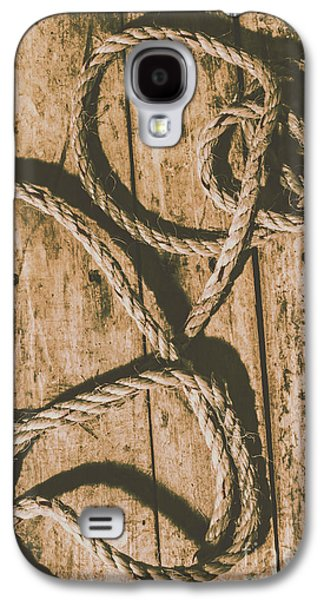 Galaxy S4 Case featuring the photograph Learning The Ropes by Jorgo Photography - Wall Art Gallery