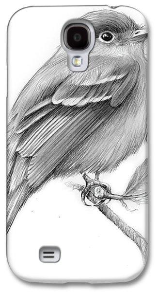 Least Flycatcher Galaxy S4 Case by Greg Joens