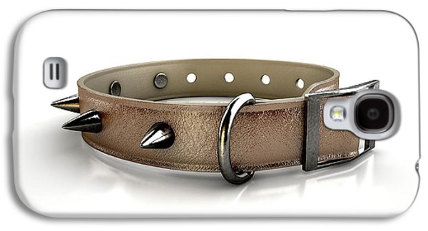 Leather Studded Collar Galaxy S4 Case by Allan Swart