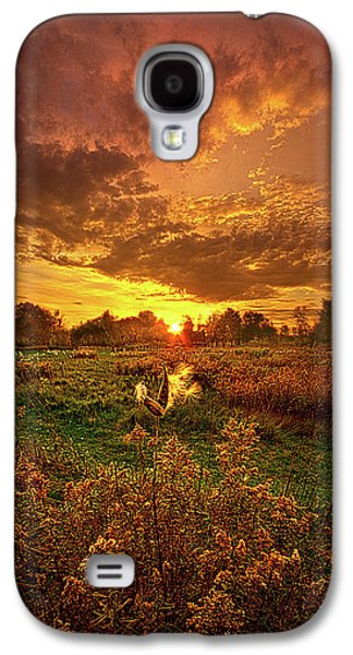 Leave A Light On Galaxy S4 Case by Phil Koch
