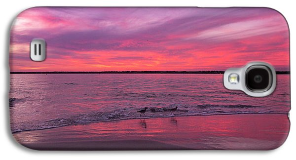 Sandpiper Galaxy S4 Case - Leave Us To Dream 2 by Betsy Knapp