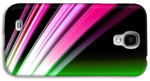 Leaving Saturn In Hot Pink And Green Galaxy S4 Case