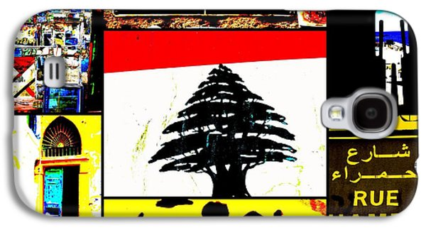 Lebanon Famous Icons Galaxy S4 Case