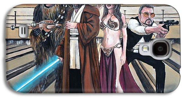 Lebowski Wars Galaxy S4 Case by Tom Carlton