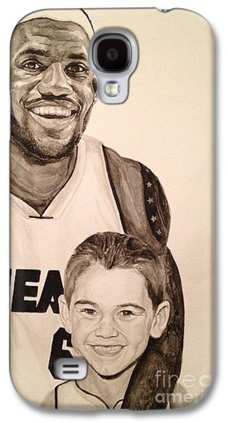 Lebron And Carter Galaxy S4 Case by Tamir Barkan