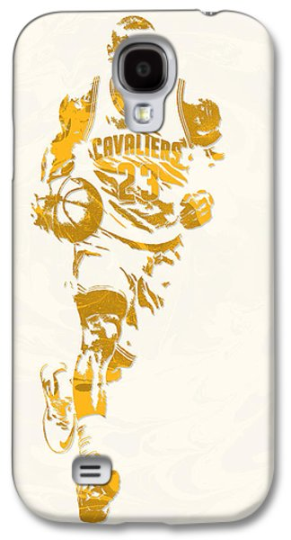 Lebron James Cleveland Cavaliers Pixel Art 11 Galaxy S4 Case