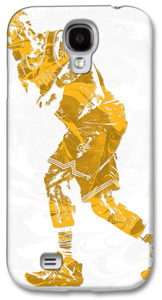 Lebron James Cleveland Cavaliers Pixel Art 13 Galaxy S4 Case