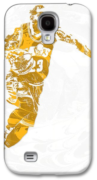 Lebron James Cleveland Cavaliers Pixel Art 14 Galaxy S4 Case