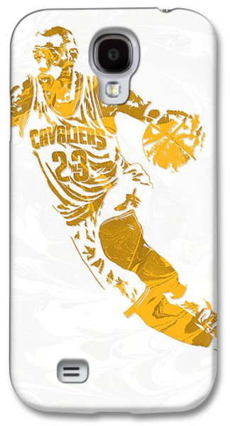 Lebron James Cleveland Cavaliers Pixel Art 15 Galaxy S4 Case