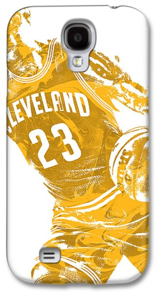 Lebron James Cleveland Cavaliers Pixel Art 20 Galaxy S4 Case