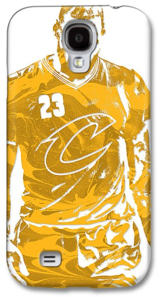Lebron James Cleveland Cavaliers Pixel Art 21 Galaxy S4 Case