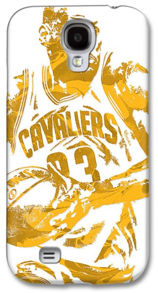 Lebron James Cleveland Cavaliers Pixel Art 6 Galaxy S4 Case