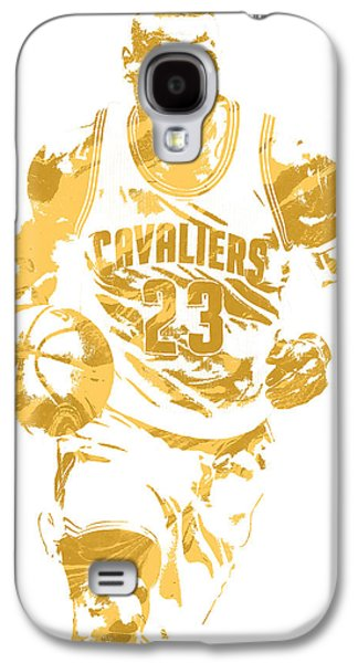 Lebron James Cleveland Cavaliers Pixel Art 7 Galaxy S4 Case