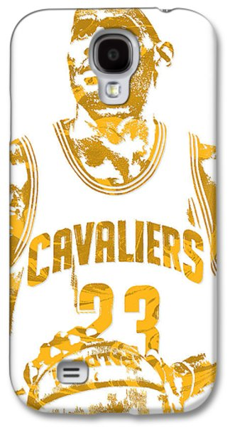 Lebron James Cleveland Cavaliers Pixel Art 8 Galaxy S4 Case