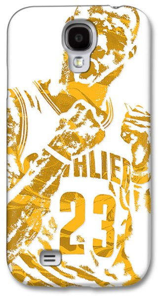 Lebron James Cleveland Cavaliers Pixel Art 9 Galaxy S4 Case