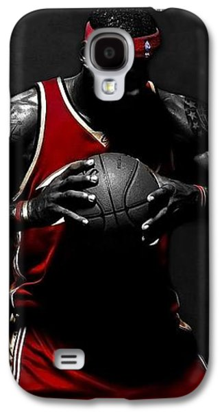 Lebron James Galaxy S4 Case by Movie Poster Prints