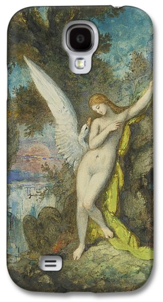 Leda And The Swan Galaxy S4 Case by Gustave Moreau