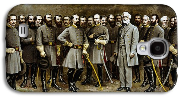 Robert E. Lee And His Generals Galaxy S4 Case by War Is Hell Store