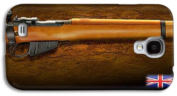 Lee Enfield British Firearm Study Galaxy S4 Case by John Wills